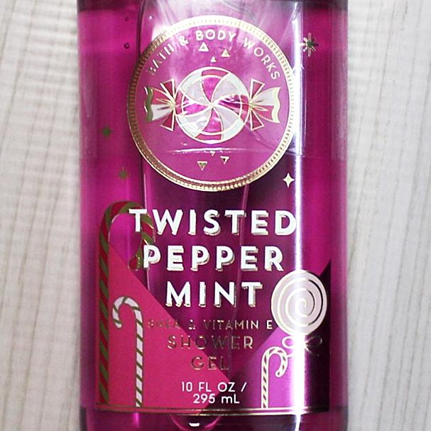 Bath & Body Works Twisted Peppermint Shower Gel 295ml