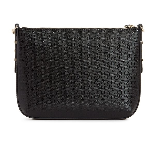 Guess Kamryn Logo Black Crossbody Sling Bag