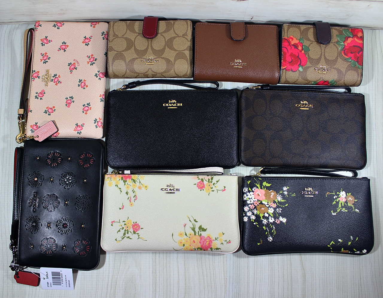 Coach Wallet Wristlet Ready Stock