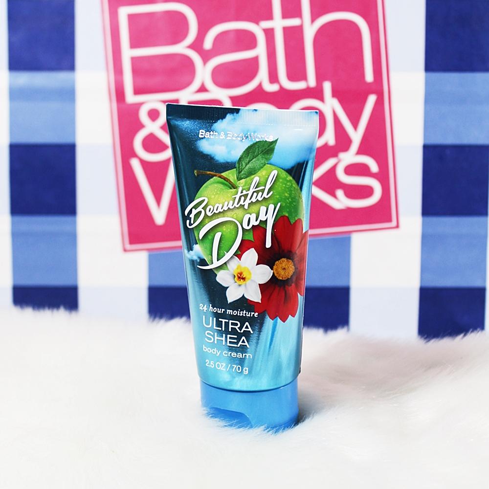 Bath & Body Works Travel Beautiful Day Mist Body Cream