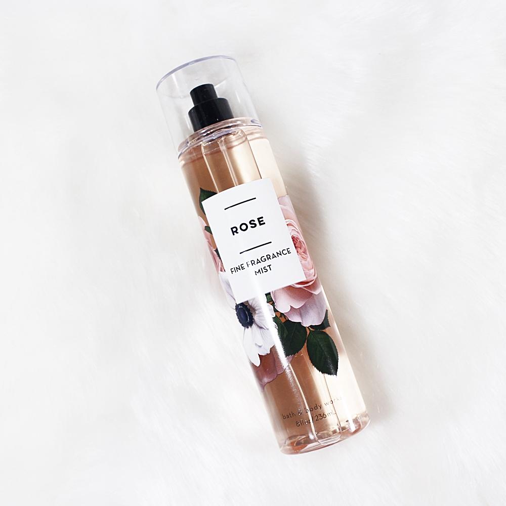 Bath And Body Works Rose Fragrance Mist 236ml