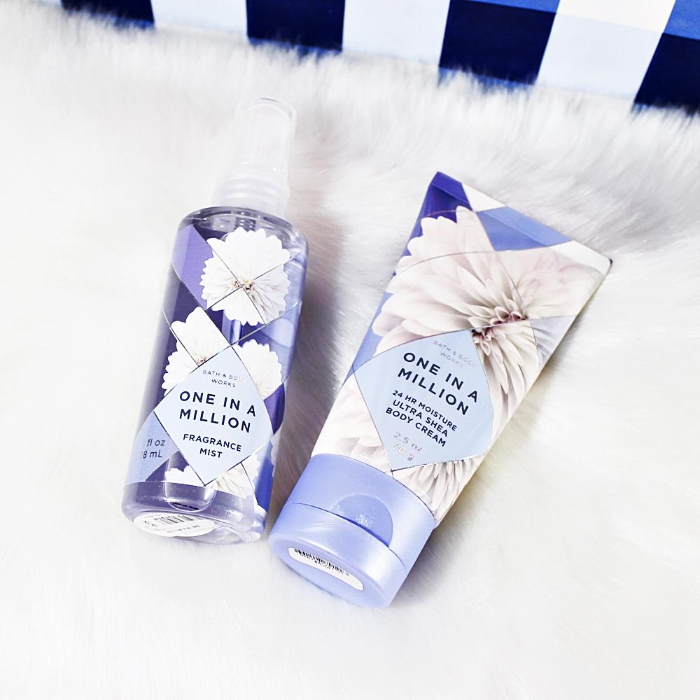 Bath & Body Works One In A Million Travel Mist Body Cream 2pc Set