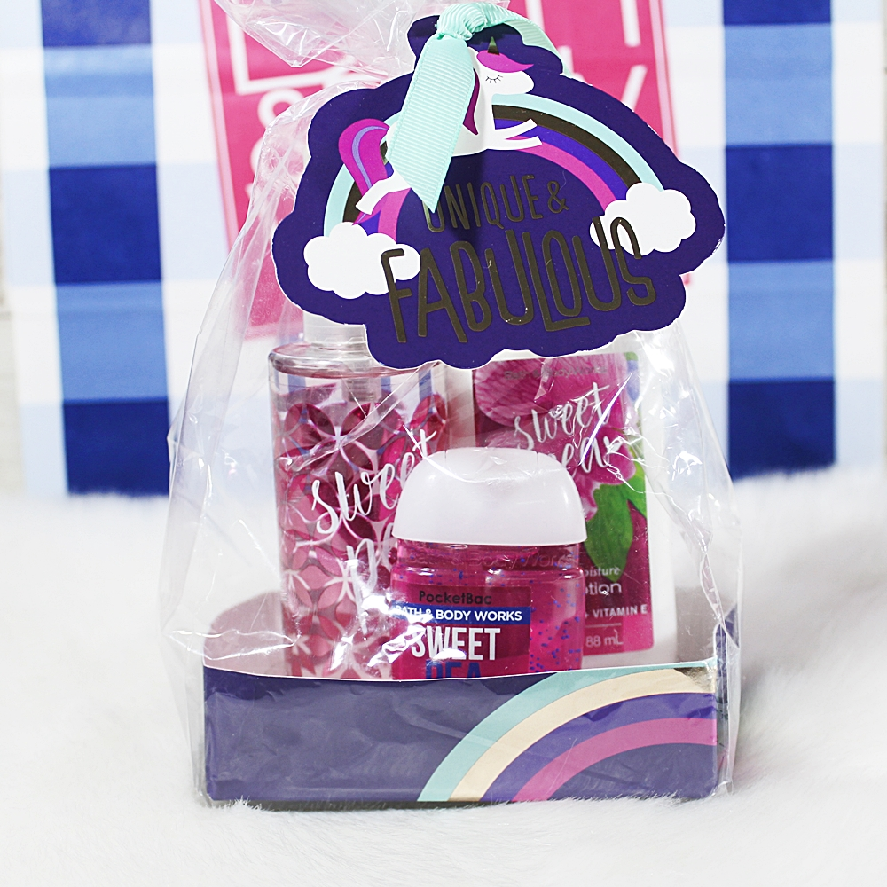 Bath & Body Works Sweet Pea Travel Set 3pc