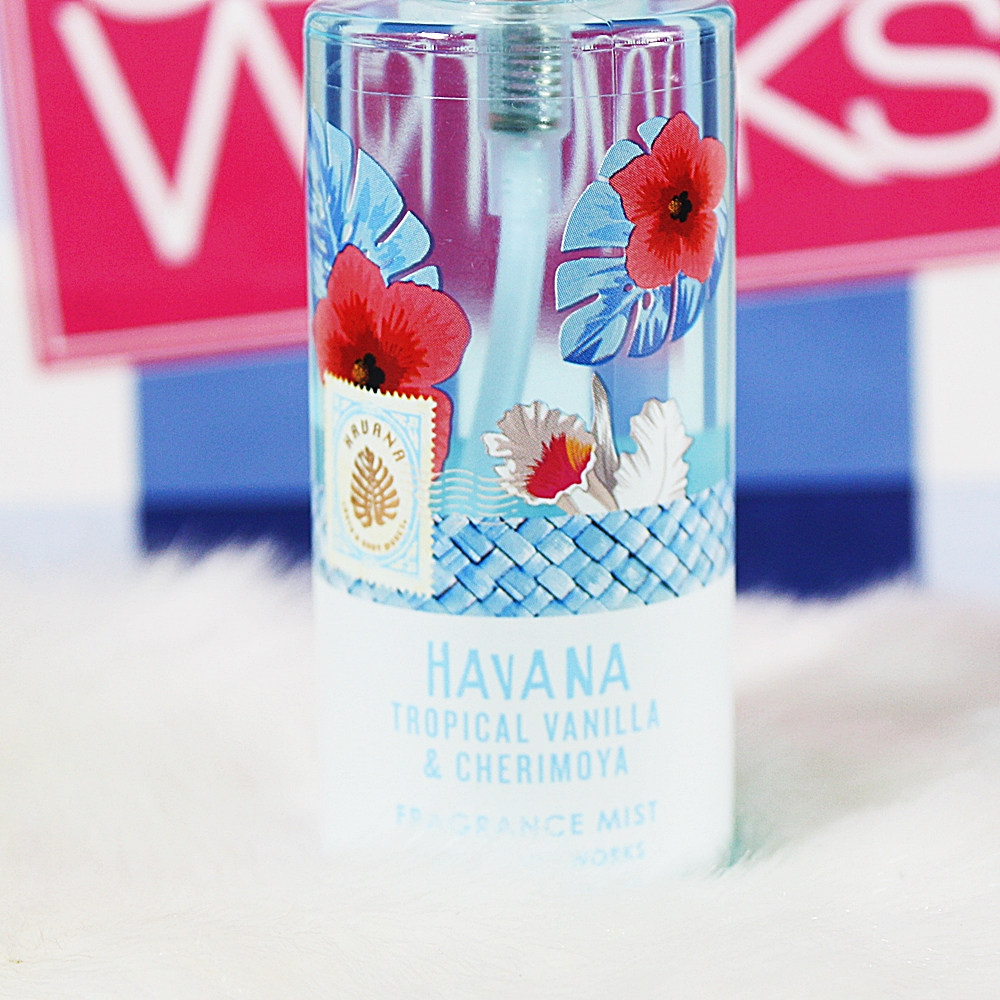 Bath & Body Works Havana Tropical Vanilla Cherimoya Travel Fragrance Mist
