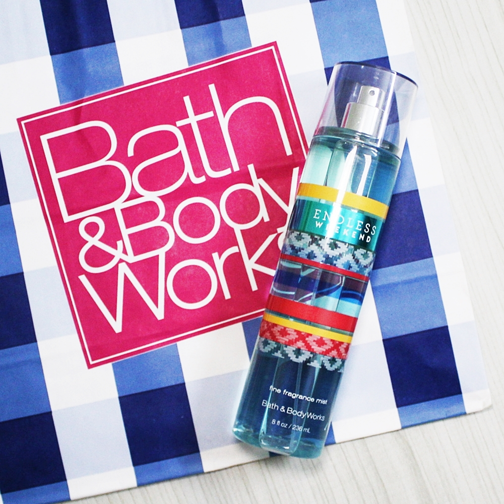 Bath And Body Works Endless Weekend Fragrance Mist 236ml