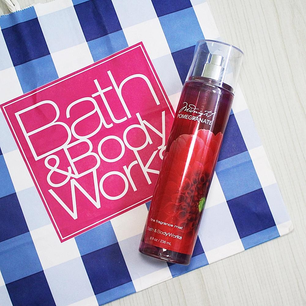 Bath And Body Works Midnight Pomegranate Fragrance Mist 236ml