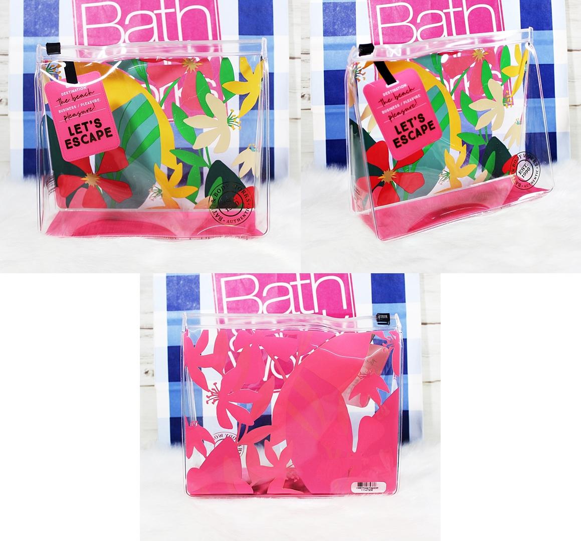Bath & Body Works Waikiki Beach Coconut Travel Gift Set 5pc