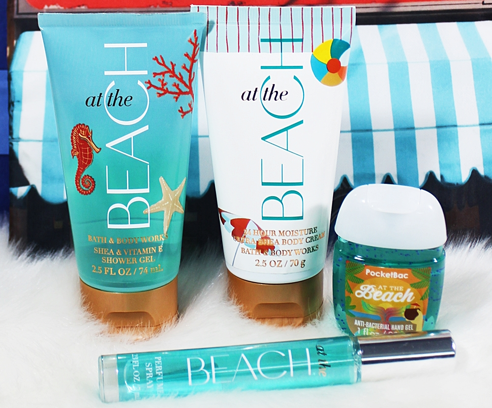 Bath & Body Works At The Beach Travel Gift Set 5pc