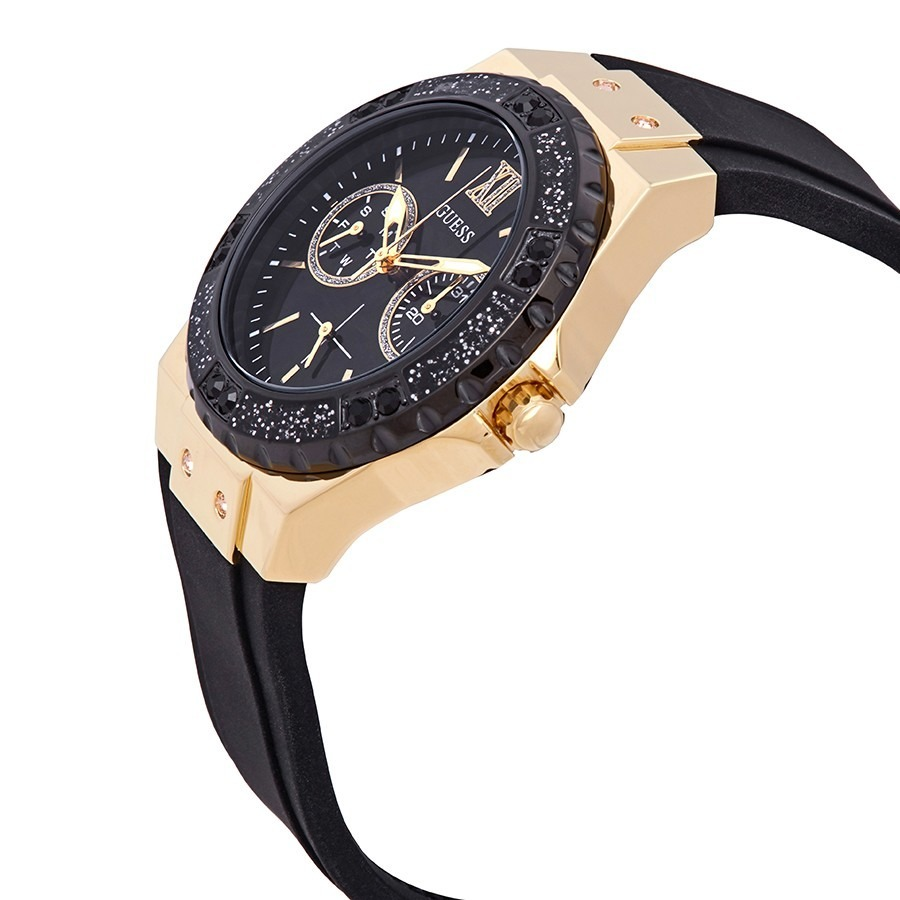 Guess U1053L7 Multifunction Black Gold Women Watch