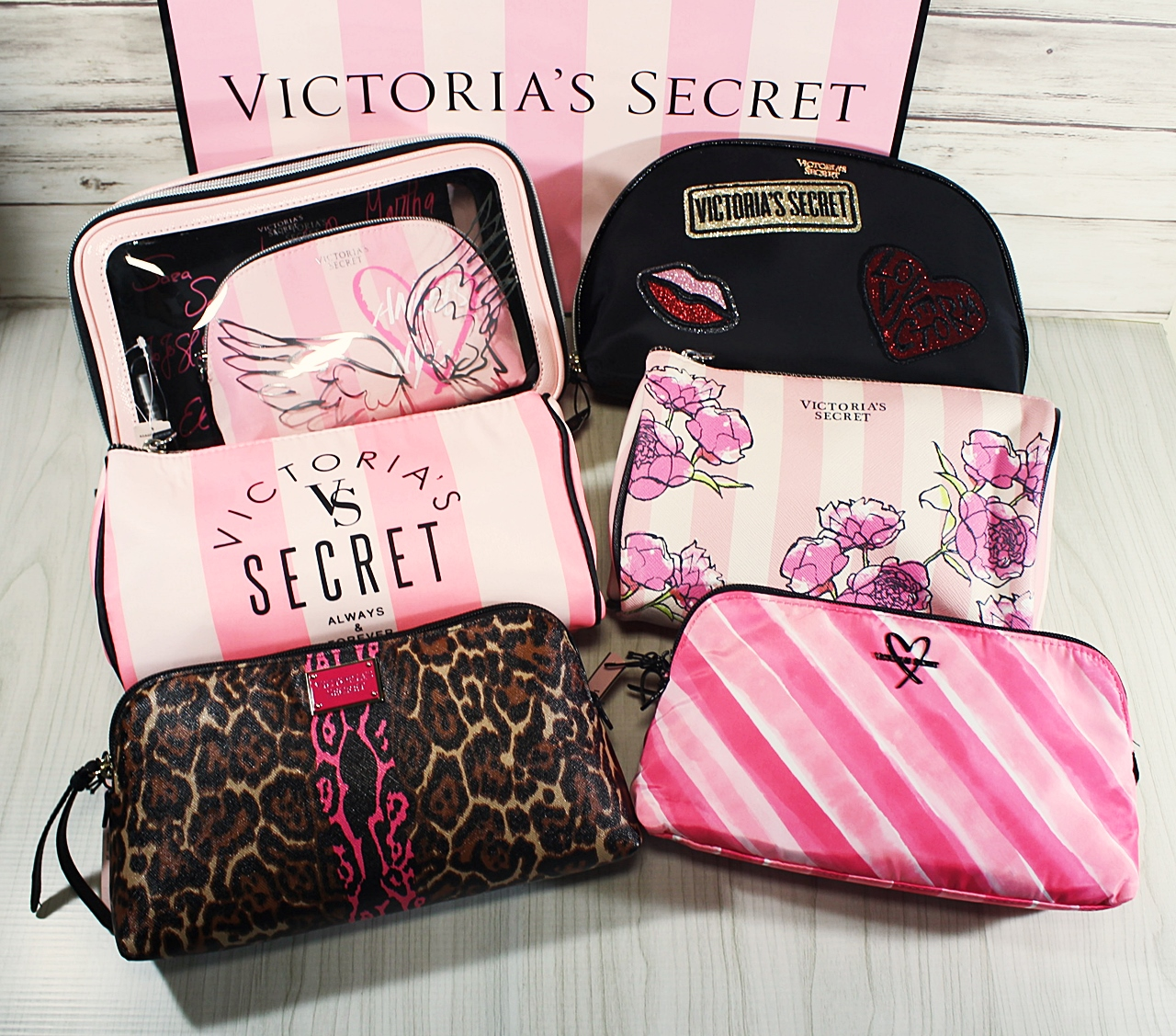 Victoria's Secret Travel Makeup Cosmetic Case