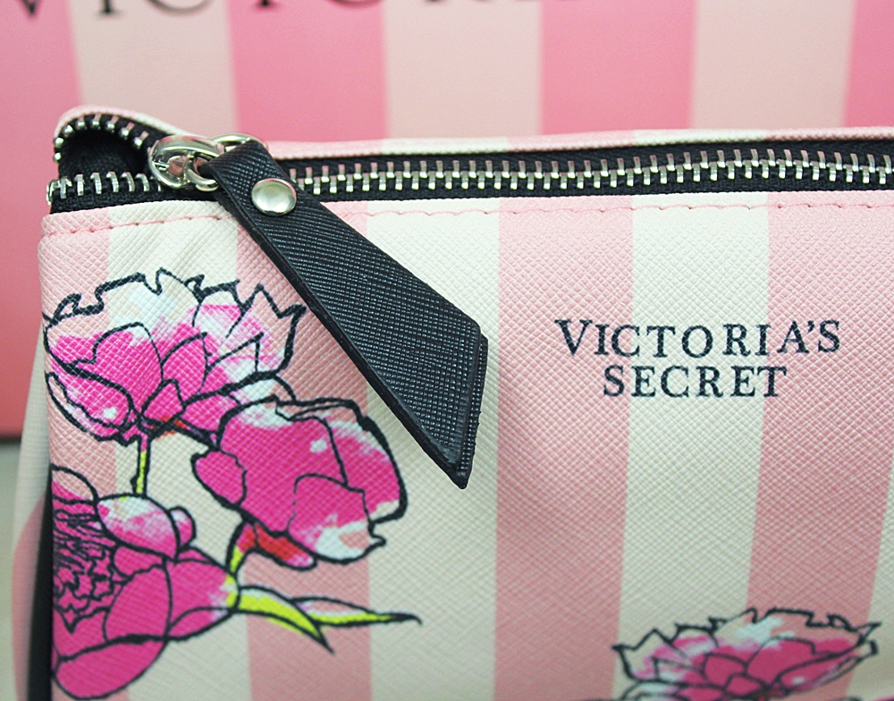 Victoria's Secret Floral Rectangular Cosmetic Case