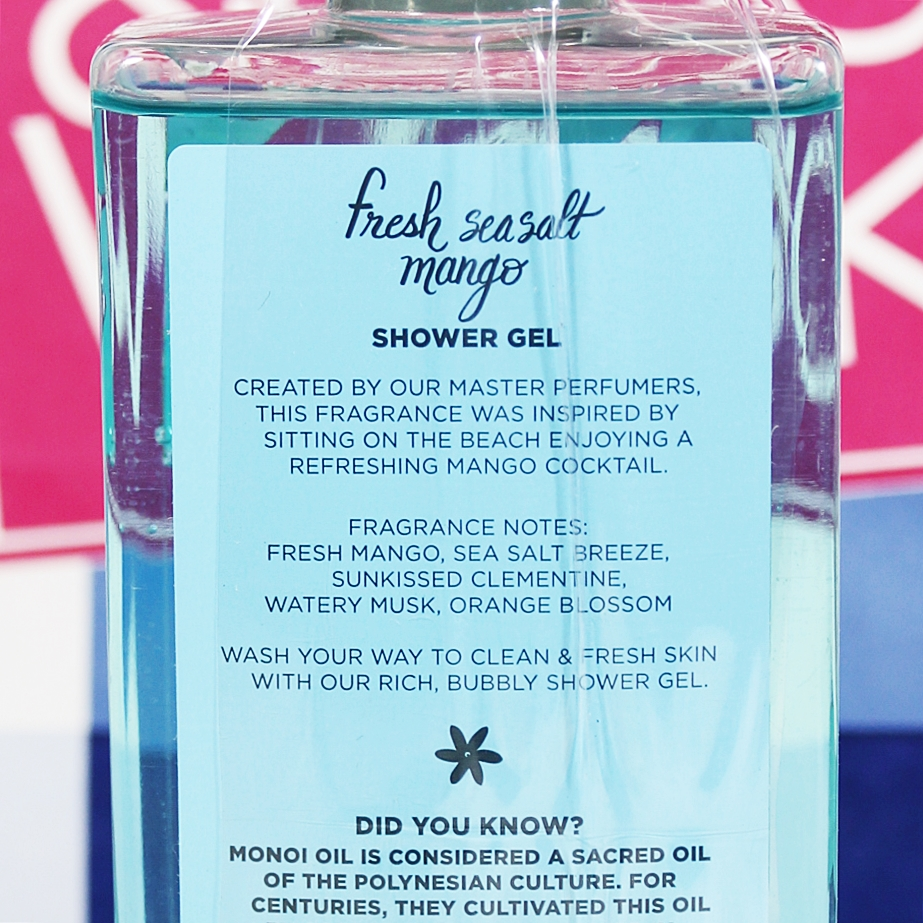 Bath & Body Works Fresh Seasalt Mango Shower Gel
