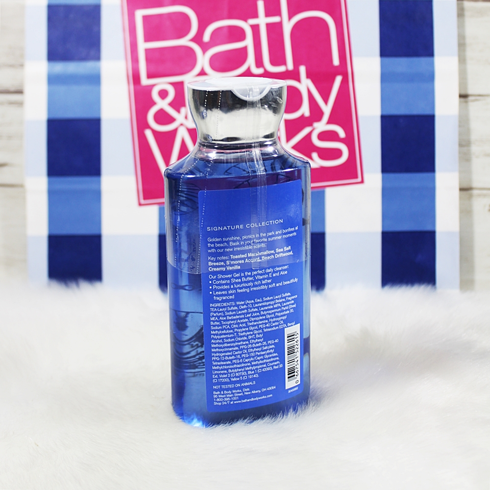 Bath & Body Works Beach Nights Summer Marshmallow Shower Gel 295ml