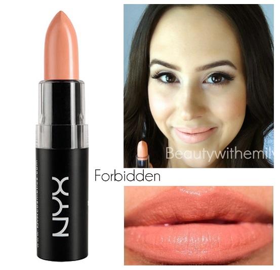NYX Matte Lipstick Forbidden