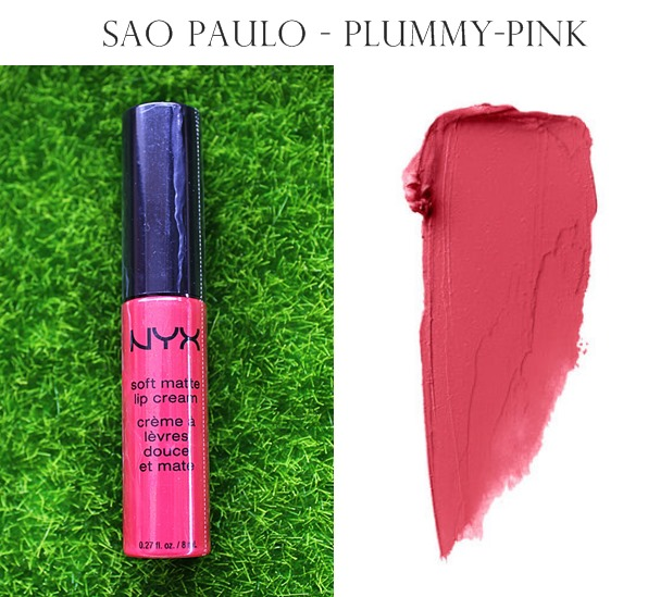NYX Soft Matte Lip Cream San Paolo