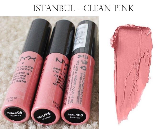 NYX Soft Matte Lip Cream Istanbul