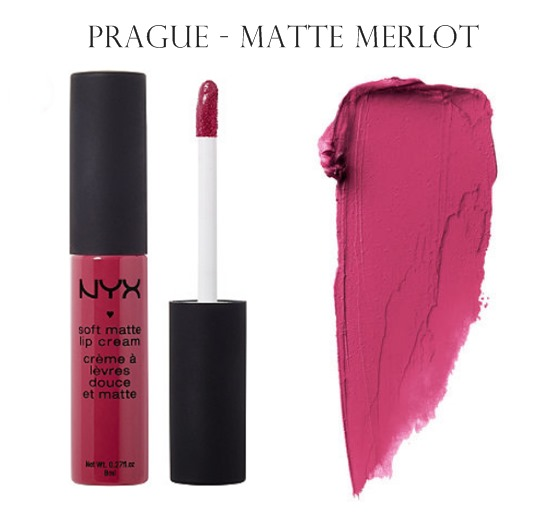 NYX Soft Matte Lip Cream Prague