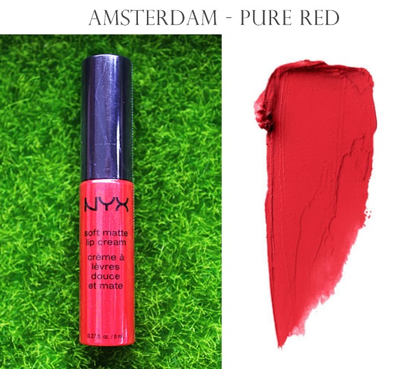 NYX Soft Matte Lip Cream Amsterdam