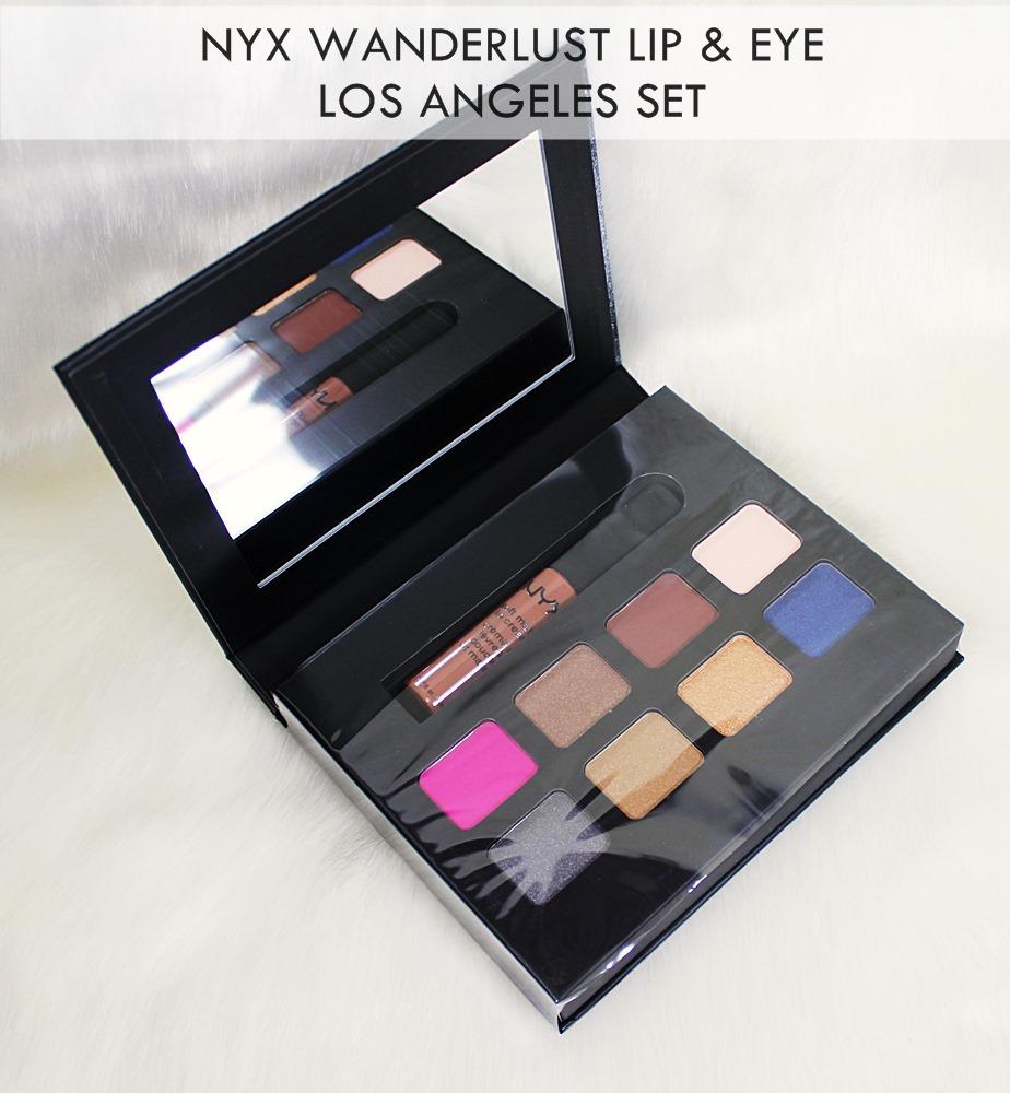 NYX Wanderlust Lip & Eye Collection Los Angeles