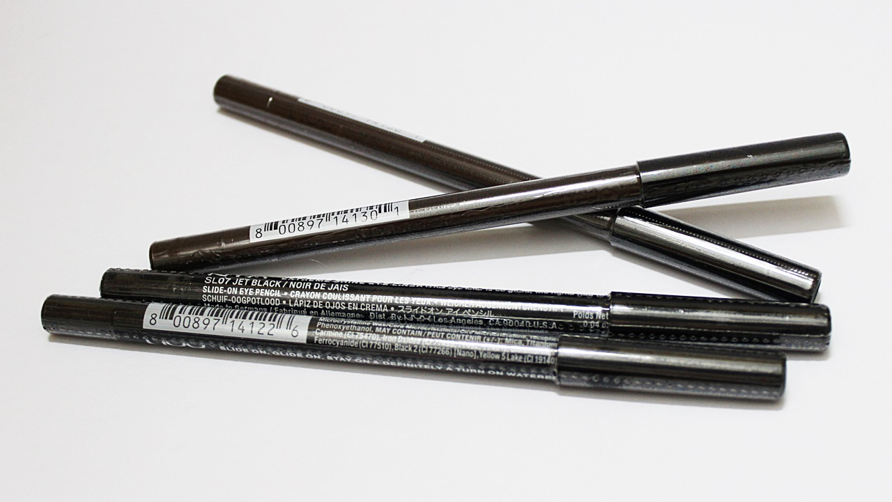 NYX Slide-On Eye Pencil Jet Black