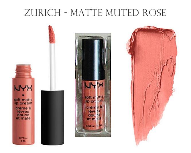 NYX Soft Matte Lip Cream Zurich