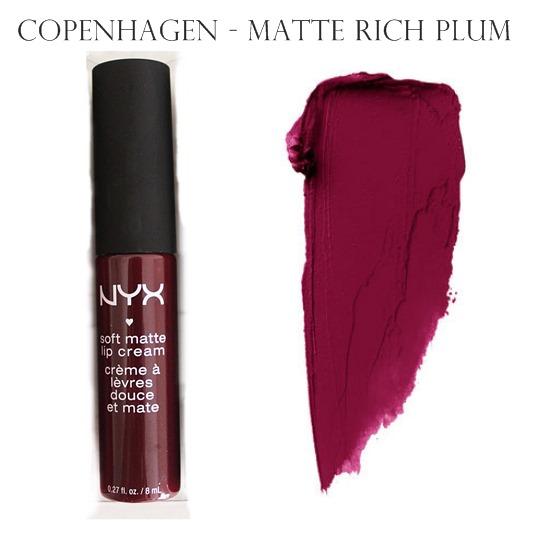 NYX Soft Matte Lip Cream Copenhagen