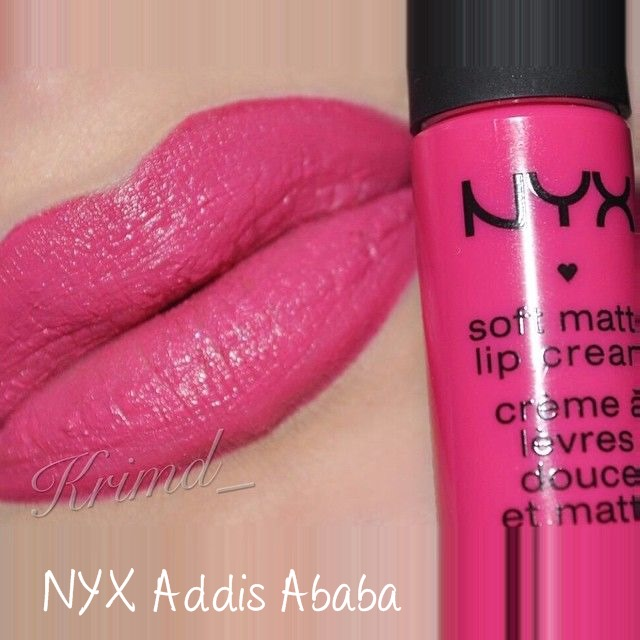 NYX Soft Matte Lip Cream Addis Ababa