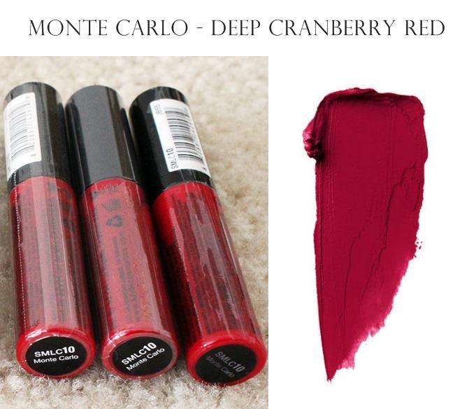 NYX Soft Matte Lip Cream Monte Carlo