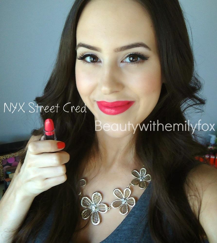 NYX Matte Lipstick Street Cred
