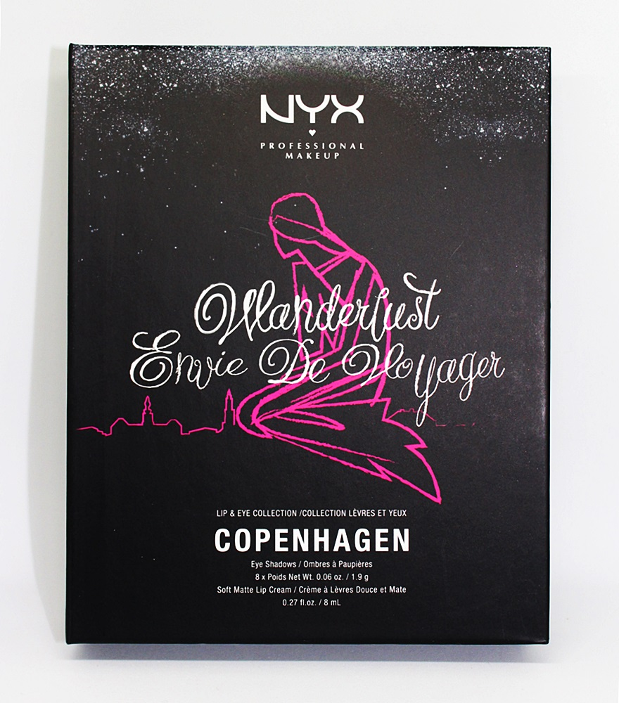 NYX Wanderlust Lip & Eye Collection Copenhagen