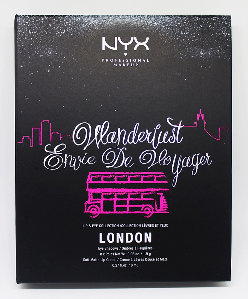 NYX Wanderlust Lip & Eye Collection London
