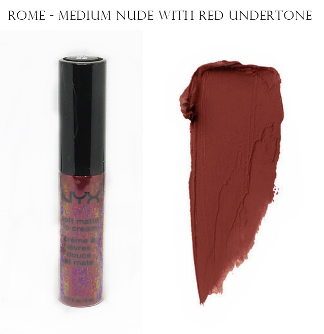 NYX Soft Matte Lip Cream Rome