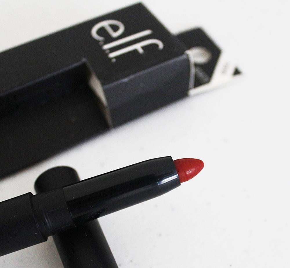 ELF Matte Lipstick Rowdy Rouge