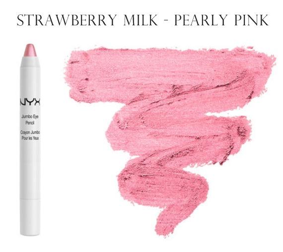NYX Jumbo Eye Pencil Eye Shadow Strawberry Milk