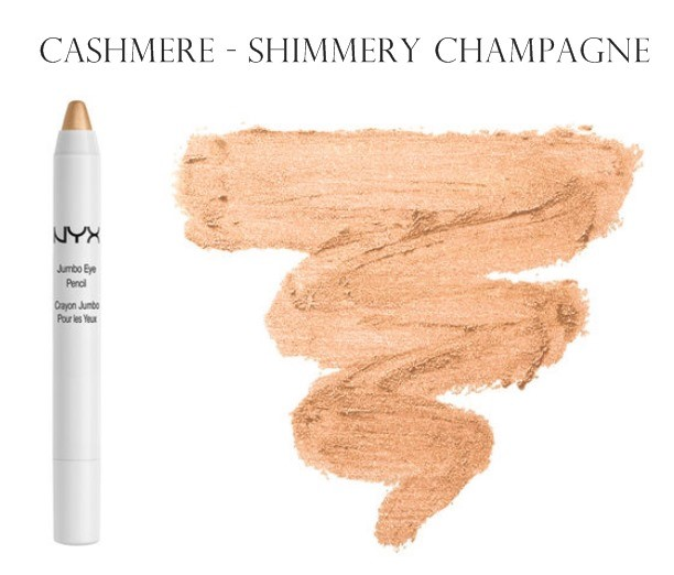 NYX Jumbo Eye Pencil Shadow Gold Cashmere