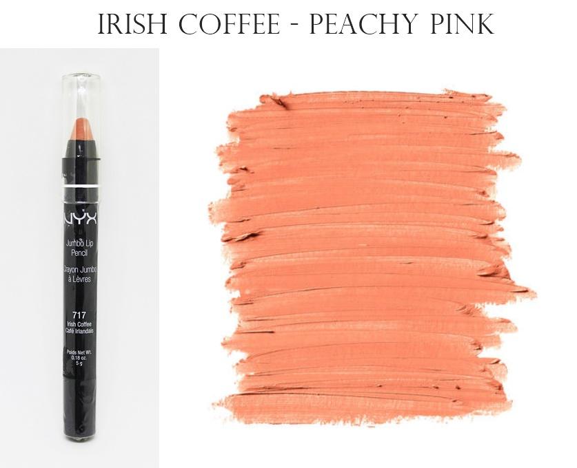 NYX Jumbo Creamy Lip Pencil Lipstick Irish Coffee