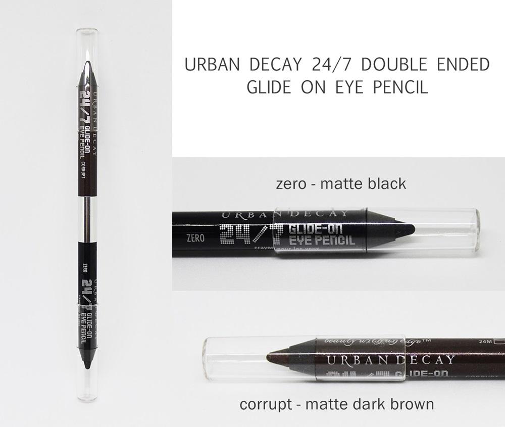 Urban Decay Waterproof 24/7 Double Ended Eye Pencil Zero/Corrupt