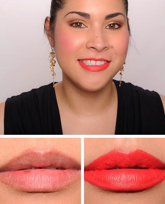 Urban Decay Matte Revolution Lipstick Tilt