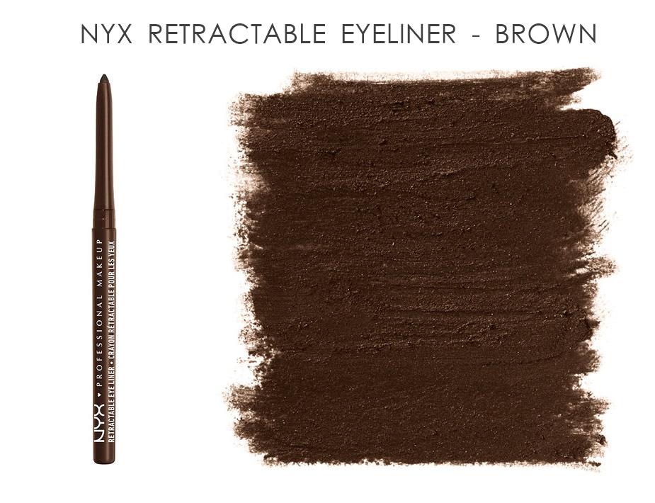NYX Retractable Eye Liner Brown