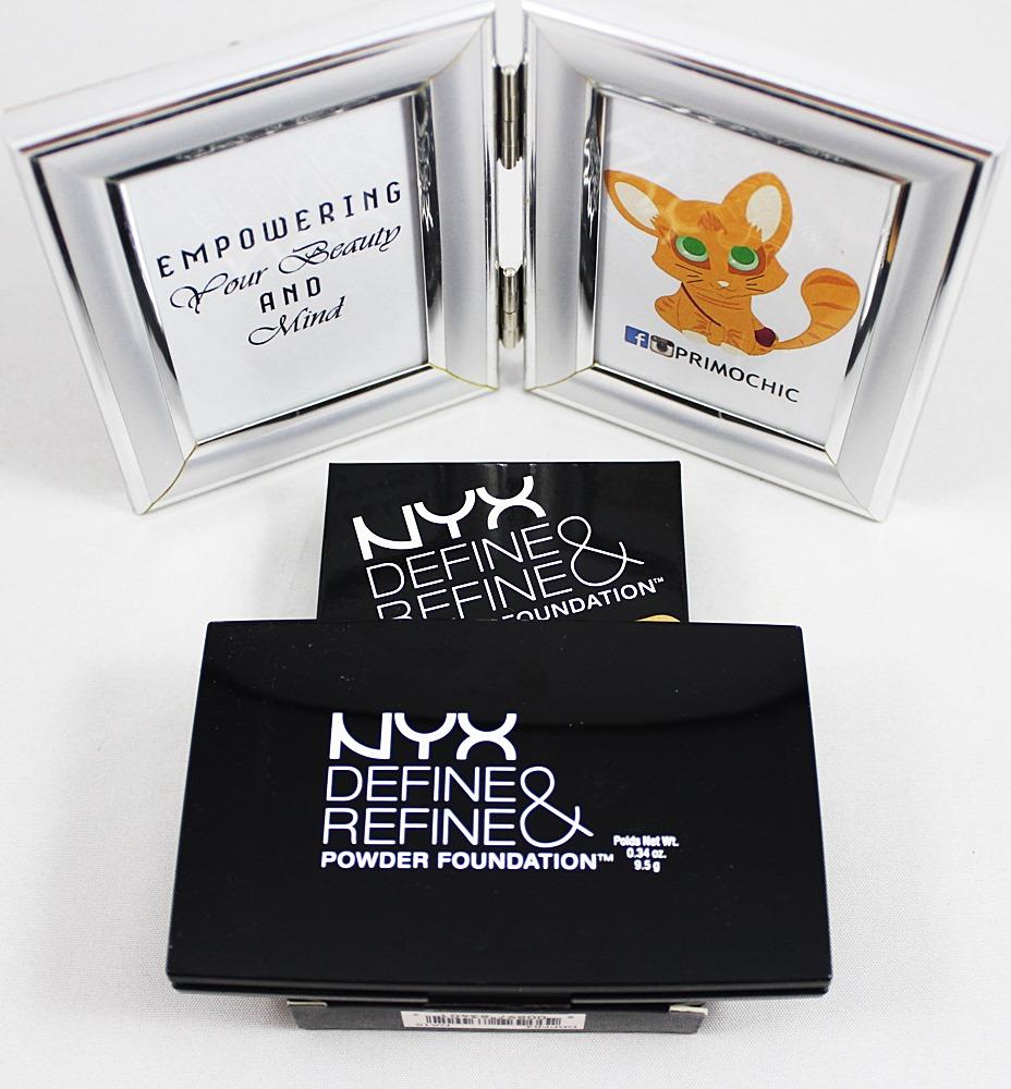 NYX Define & Refine Powder Foundation Beige