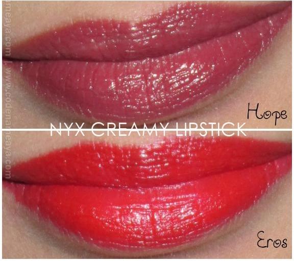 NYX Extra Creamy Round Lipstick Hope