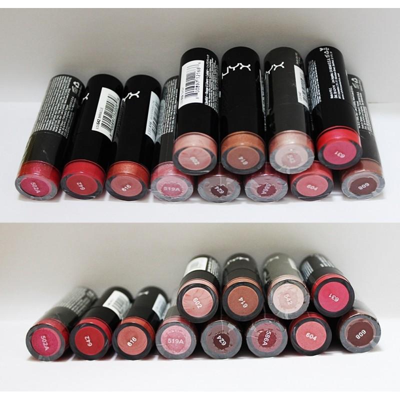 NYX Extra Creamy Round Lipstick Gem