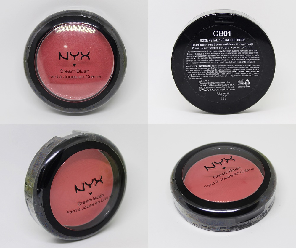 NYX Rouge Cream Blush Rose Petal