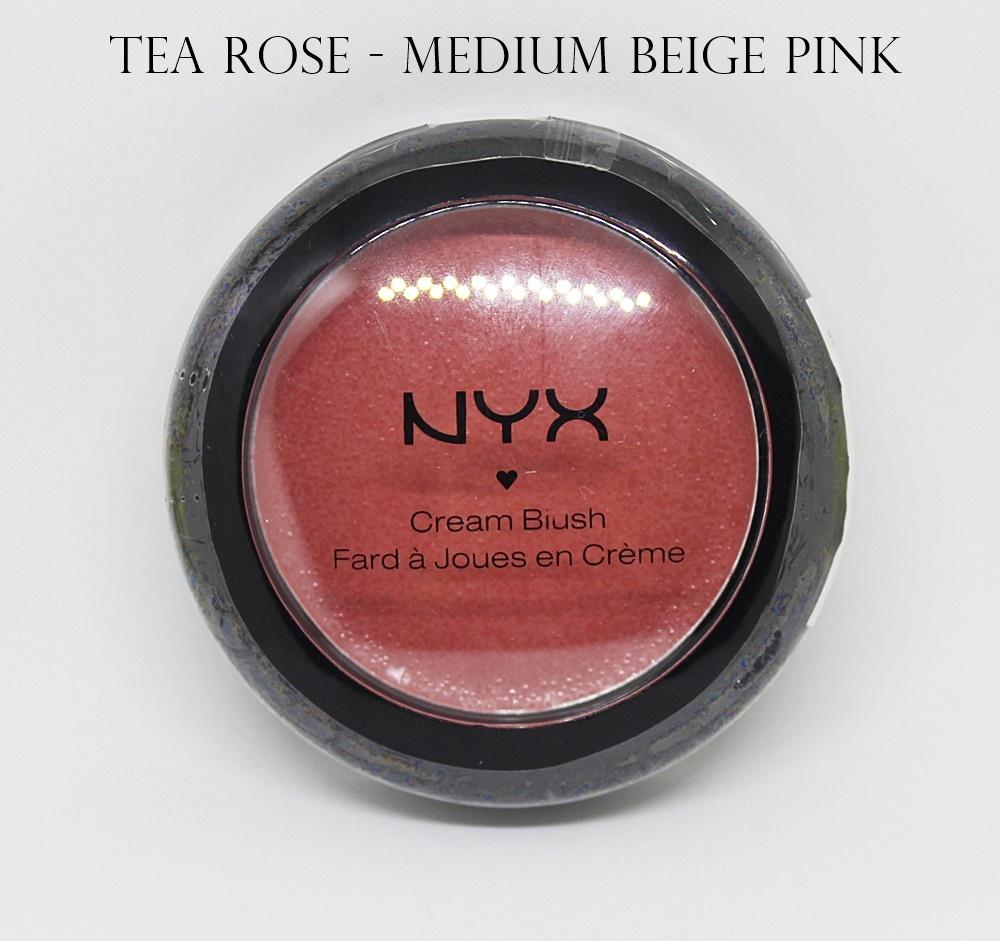 NYX Rouge Cream Blush Tea Rose