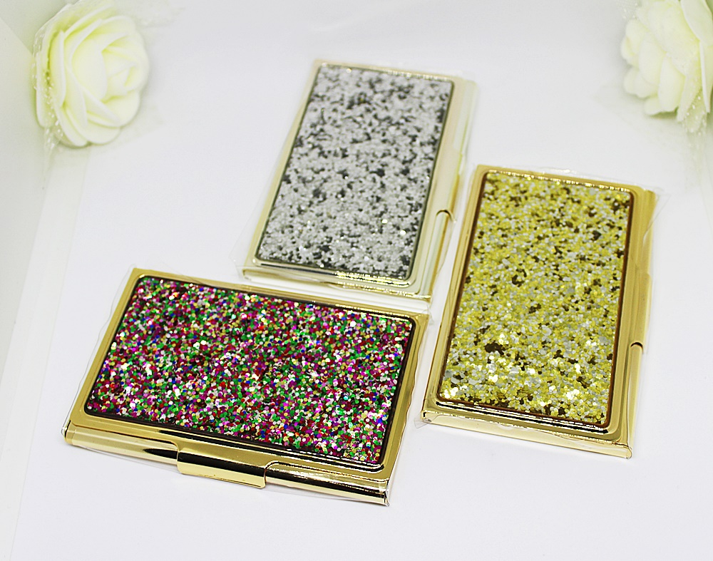 Kate Spade Business Card Holder Simply Sparkling