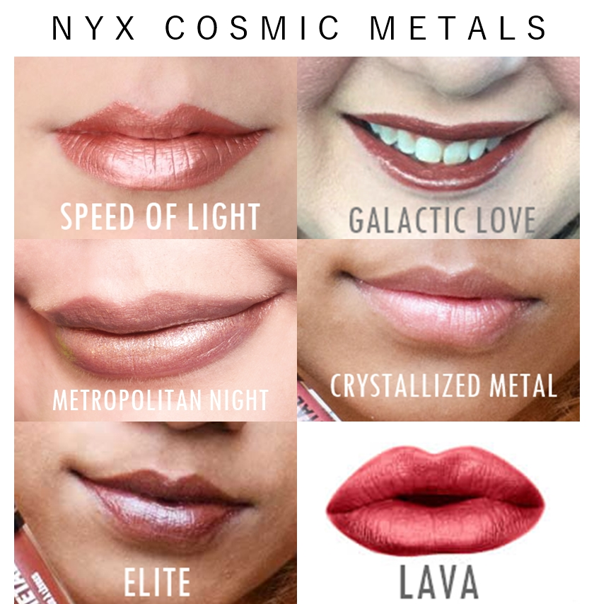 NYX Matte VS Metals Lip Cream Vault Set