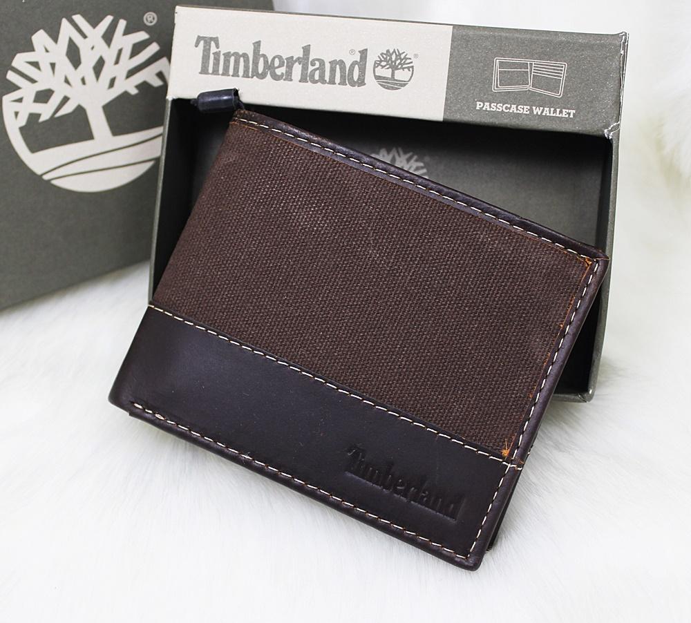 Timberland Baseline Canvas Men Wallet Coffee/Brown