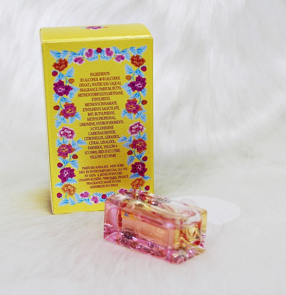 Anna Sui Flight Of Fancy Mini Perfume EDT 4ml